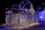 Reichstag als Eisskulptur